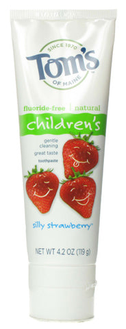 Toms Of Maine Silly Strawberry Fluoride-Free