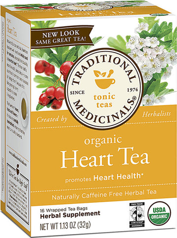 Traditional Medicinal Heart Tea with Hawthorn