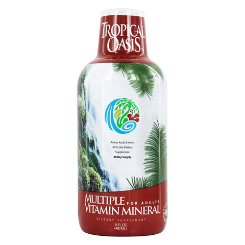 TROPICAL OASIS - Adult Liquid Multi Vitamin and Mineral Supplement
