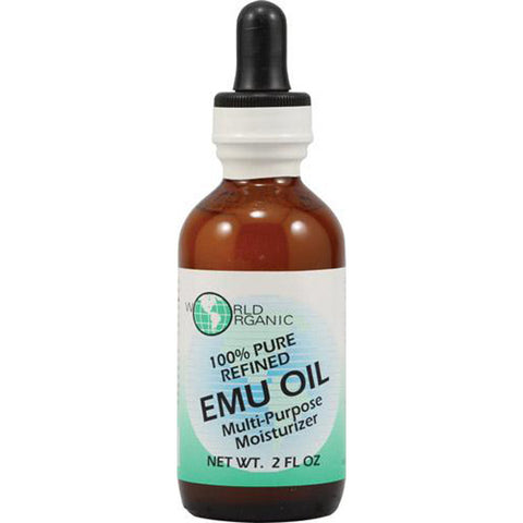 WORLD ORGANIC - EMU Oil 100% Pure with Dropper