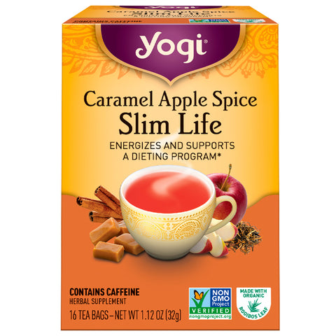 YOGI TEA - Caramel Apple Spice Snack Tea