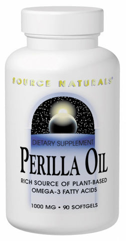 Source Naturals Perilla Oil - 90 Softgels (1,000 mg)
