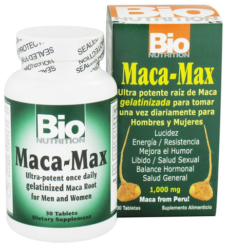 BIO NUTRITION - Maca Max 1000 mg - 30 Tablets