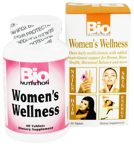 BIO NUTRITION - Womens Wellness - 60 Tablets