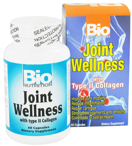 BIO NUTRITION - Joint Wellness with Type II Collagen - 60 Capsules