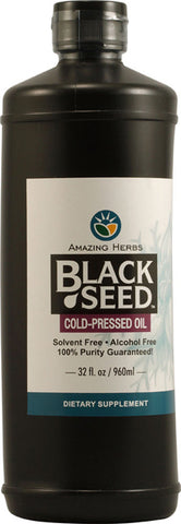 BLACK SEED - Egyptian Black Seed Oil - 32 fl. oz.