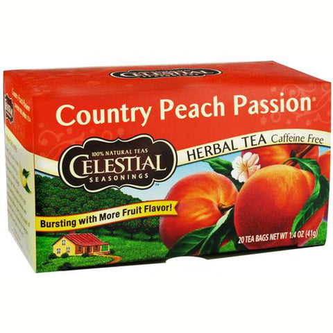 Celestial Seasonings Herb Tea Ctry Peach Passion