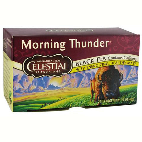 Celestial Seasonings Herbal Tea Morning Thunder