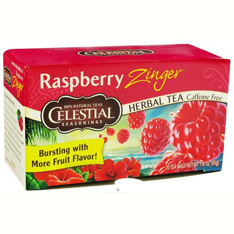Celestial Seasonings Raspberry Zinger Herbal Tea