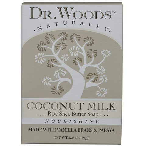DR. WOODS - Coconut Milk Raw Shea Butter Soap
