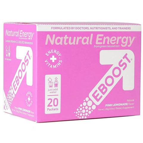 EBOOST Pink Lemonade Natural Energy Booster