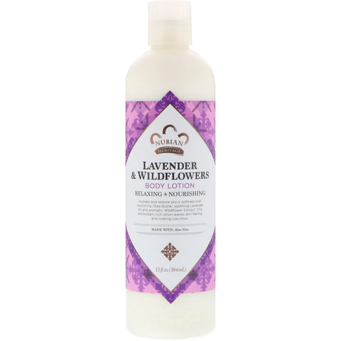 NUBIAN HERITAGE - Lavender & Wildflower Body Lotion