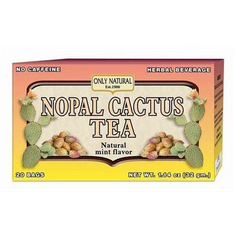 Only Natural - Tea Nopal Cactus 20 Bag By  (1 Each) ( Multi-Pack)