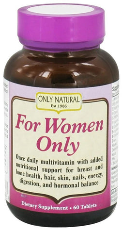 Only Natural -  For Women Only