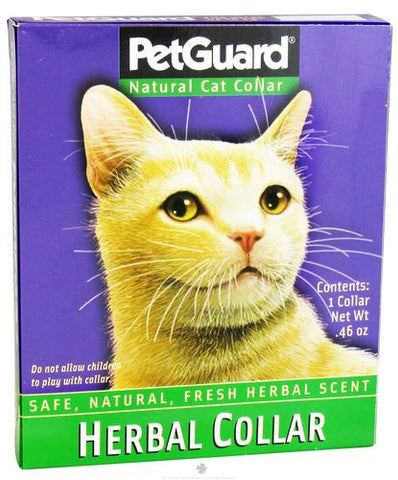 PetGuard - Pet Guard Natural Herbal Cat Collar - 0.46 Oz, 2 Pack
