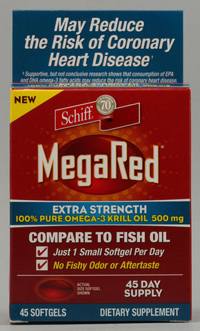 Schiff -  Megared Extra Strength Omega 3 500 Mg