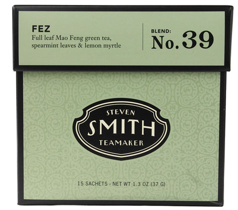 Smith Teamaker - Steven  - Full Leaf Green Tea Fez No. 39 - 15 Tea Bags