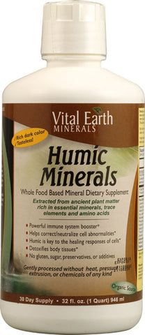 Vital Earth Minerals -  Mineral-Humic, 32 Oz ( Multi-Pack)