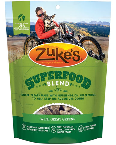 ZUKE'S - SuperFood Blend Treats with Great Greens