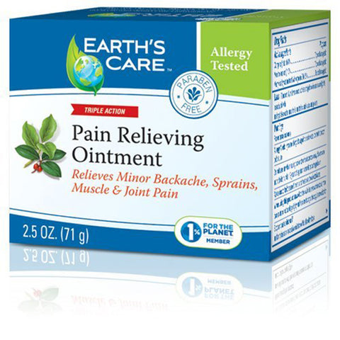Earth's Care Pain Relieving Ointment 100% Natural