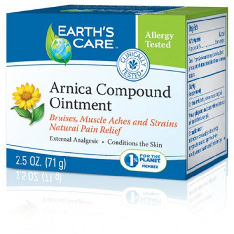 Earth's Care Arnica Compound Ointment 100% Natural