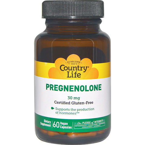 COUNTRY LIFE - Pregnenolone Caps 30 mg