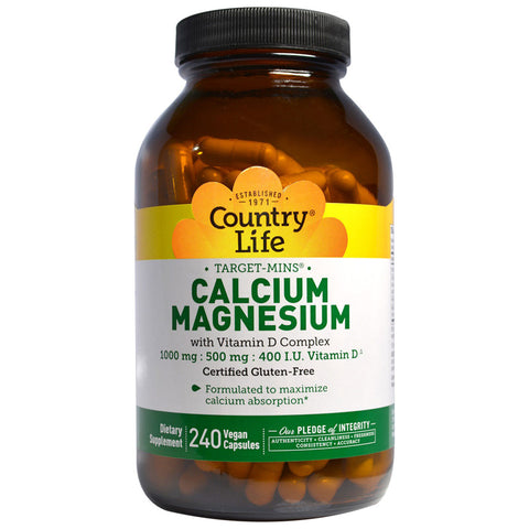 COUNTRY LIFE - Target-Mins Calcium-Magnesium with Vitamin D Complex