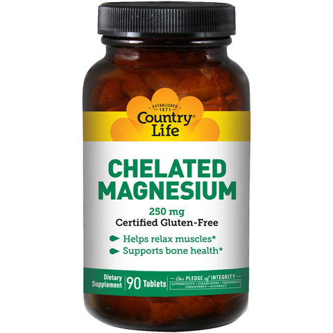 COUNTRY LIFE - Chelated Magnesium 250 mg