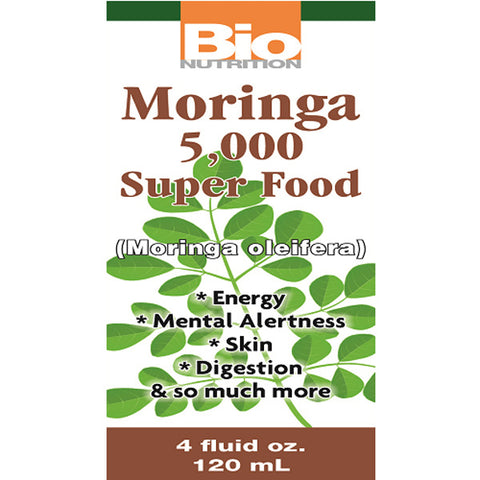 Bio Nutrition - Moringa Super Food Liquid - 4 fl. oz. (120 ml)