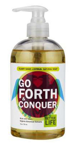 Better Life - Go Forth & Conquer Soap Clary Sage + Citrus - 12 fl. oz. (354 ml)