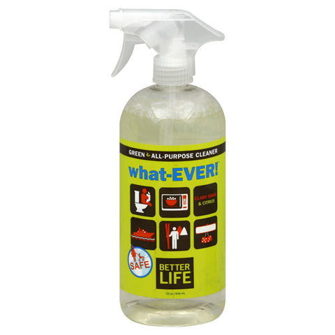 Better Life - What-Ever! All-Purpose Cleaner Clary Sage & Citrus - 32 fl. oz. (946 ml)