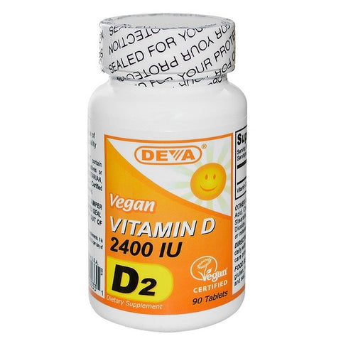 Deva Nutrition - Vegan Vitamin D 2400 IU