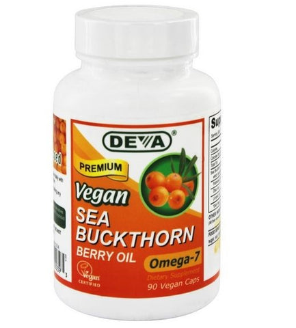 Deva Nutrition - Vegan Sea Buckthorn Berry Oil Omega-7