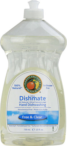 Earth Friendly - Dishmate Manual Dishwashing Liquid Free and Clear