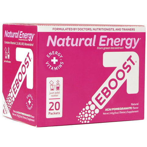 eBoost - Acai Pomegrante Natural Energy Booster