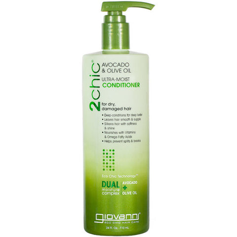 GIOVANNI COSMETICS - 2Chic Ultra Moist Avocado & Olive Oil Conditioner
