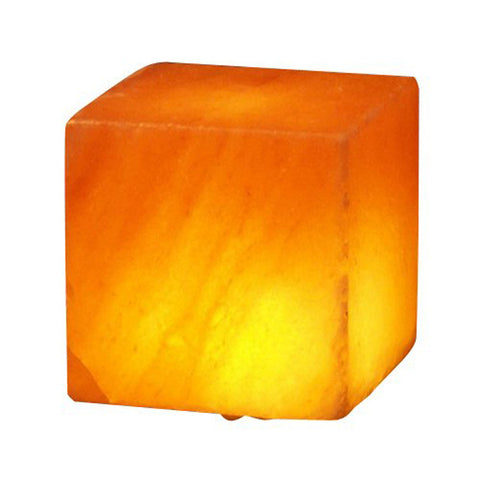 Himalayan Salt Aloha Bay Cube Salt Lamp USB