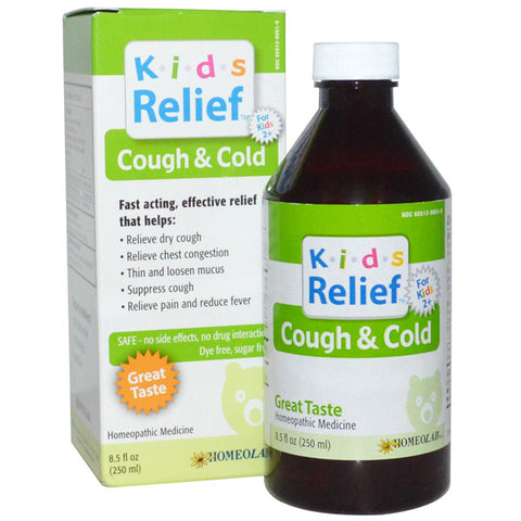Homeo Lab - Kids Relief Cough & Cold Syrup
