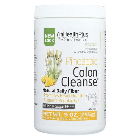 Health Plus - Colon Cleanse Pineapple Stevia