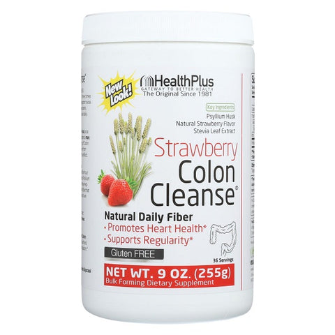 Health Plus - Colon Cleanse Strawberry Stevia