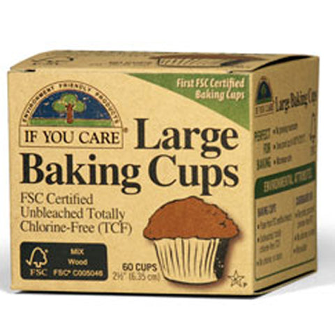 If You Care - Large Baking Cups 2.5 inch