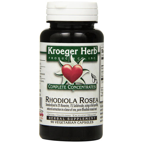 KROEGER - Rhodiola Rosea Complete Concentrate