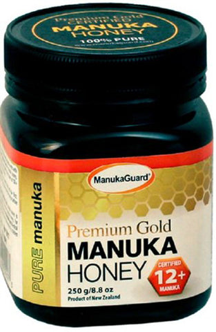 ManukaGuard - Premium Gold Manuka Honey 12+ - 8.8 oz. (250 g)