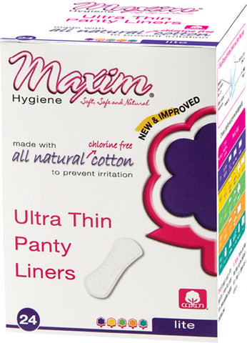 Maxim Hygiene - MaxION Ultra Thin Panty Liners Lite - 24 Panty Liners