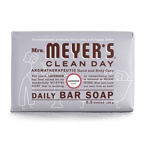 Mrs. Meyer's - Clean Day All Purpose Soap Bar Lavender