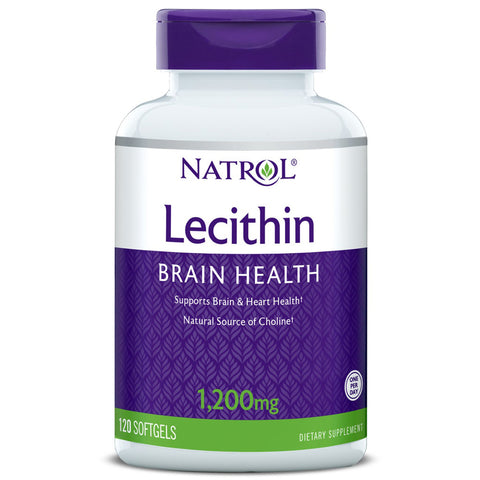 Natrol - Soya Lecithin 1200 mg