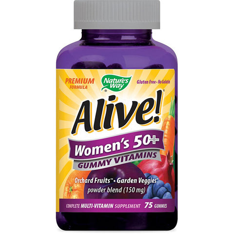 NATURES WAY - Alive Womens 50+ Gummy Vitamins