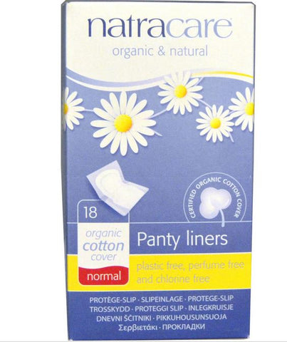 Natracare - Normal Wrapped Panty Liner