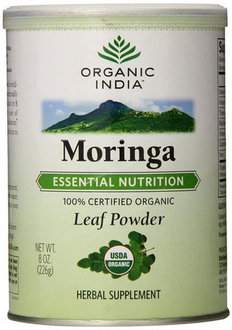 Organic India - Organic Moringa Leaf Powder