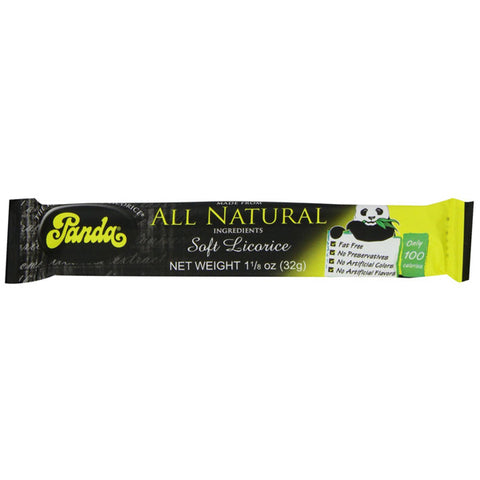 Panda - Natural Licorice Bars - 36 x 1.1 oz. Bars